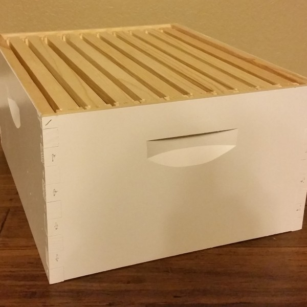 BZ Honey - Assembled and painted deep box combo with ten foundation frames.