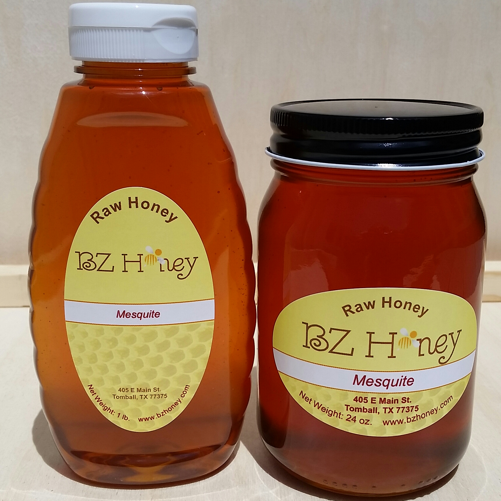 BZ Honey - Our mesquite honey from the Southwest US is light, sweet, and has a memorable mesquite flavor, more delicate, but similar to mesquite smoke.