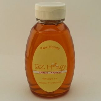 BZ Honey - Light and sweet in flavor, this honey is floral and clear. Local Cypress, TX sources are predominantly clover, tallow, and wildflower.