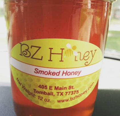 BZ Honey - Use our smoked honey to bring great smoked flavor.