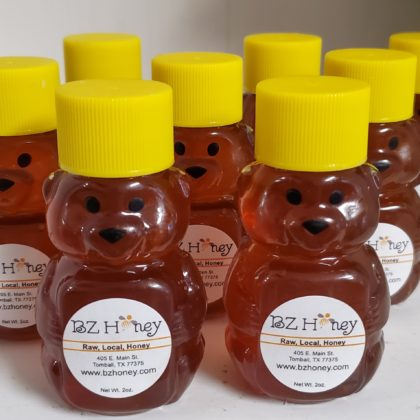 2 oz. Plastic Bears, sold in quantities of 50.